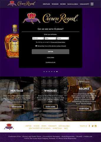 Crown Royal site