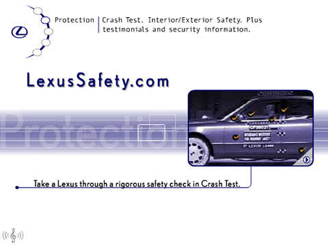Lexus Safety site