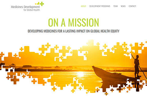 Medicines Development for Global Health site