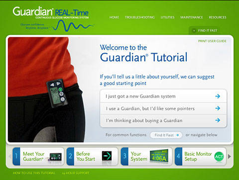 Medtronic Guardian site